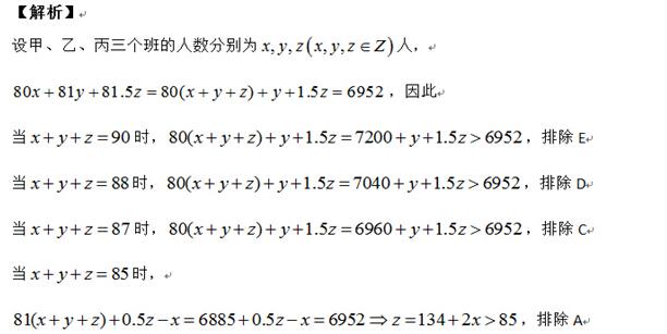 跨考:2015年管理类联考数学难题解题技巧