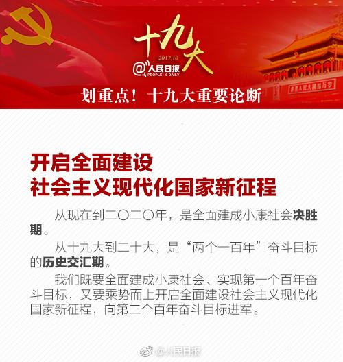 2018考研政治:时政热点之十九大重要论断