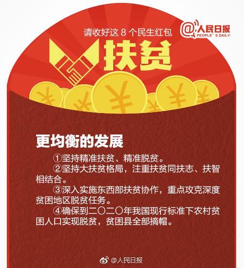"""2018考研政治时政:十九大报告中的8个""""民生红包""""(4)"""
