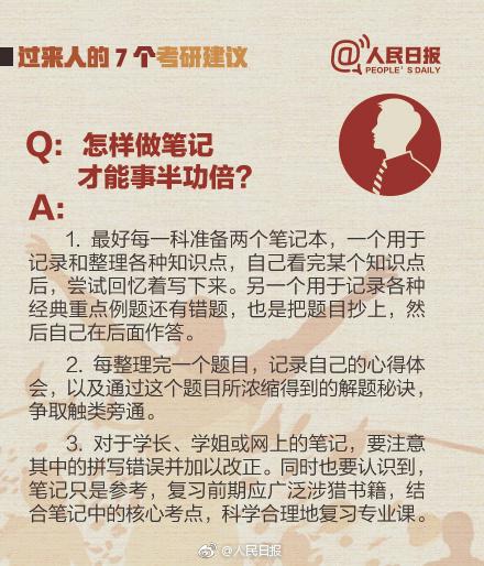 2018考研:过来人的7个考研建议【考研党必备】