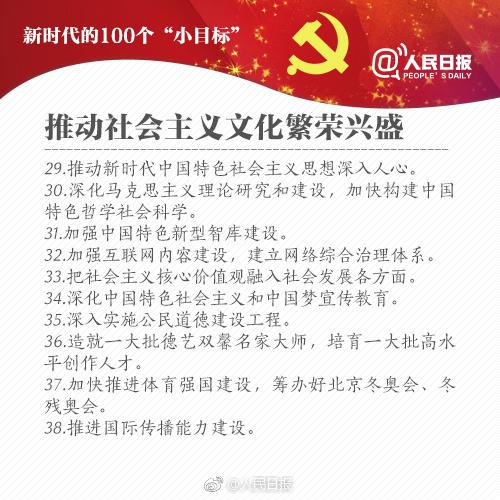"2018<a target='_blank' href='http://wap.kuakao.com'>考研</a>政治时政:新时代的100个""小目标""(4)"