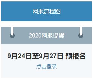2020考研预报名入口开通 2020考研预报名流程 考研预报名注意事项
