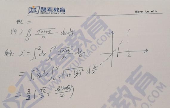 2020考研数学二真题答案